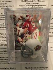 Aeneas Williams Arizona Cardinals Mini Helmet Card Display Case Shadowbox Auto