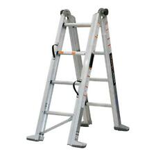 MURPHY LADDER 12 ft. Reach Aluminum Fully Compactable Multi-Position Ladder 375