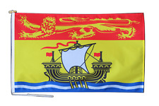 More details for new brunswick canada flag with rope and toggle - various sizes