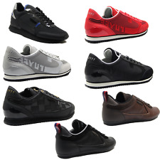 Mens Trainers Cruyff Designer Faux Leather Lace Up Sneakers Sports Casual Shoes