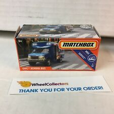 GMC School Bus * Power Grabs 2018 Matchbox K Case * ZB3