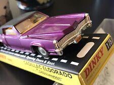 Dinky Purple 175 Cadillac Eldorado VNMint In NMCase