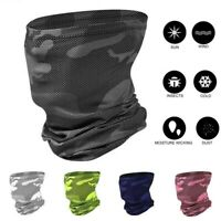 Mens Womens Face Mask Scarf Neck Gaiter Bandana Cover Snood Scarves Headband USA