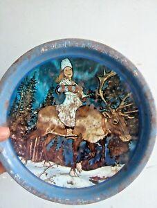 Kjeldsens biscuit tin Hans Christian Andersen fairy tales Collectible tin rare
