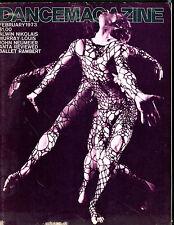 Dance Magazine February 1973 Alwin Nikolais EX 072016jhe