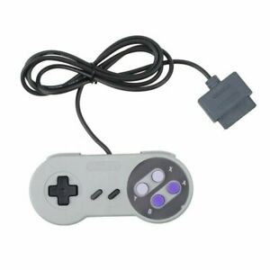 New Super Nintendo SNES System Gamepad Replacement Controller 6FT for SNS-005