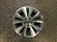 "13-19 VW GOLF MK7 16"" INCH ALLOY WHEEL 10 SPOKE 5 STUD 6.5JX16H2 (SCRATCHED)"