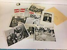 Vintage 1960's Iowa Illinois Gas & Electric Co Photos Magazines 10 Pc Lot News