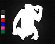 CHIMPANZEE #2 SAFARI VINYL STICKER CAR/VAN/WALL/DOOR/LAPTOP/TABLET/WINDOW/HOME