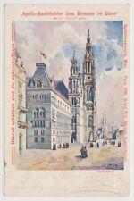 Austria postcard - Apollo-Nachtlichter zum Brennen im Glase, Verlag, Wien Apollo