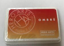 Hero Arts Ombre AF309 Butter Bar To Orange Soda Dye Ink Pad multi colour craft
