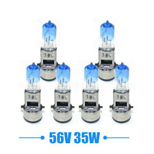 6pcs Ebike Scooter Headlight 56v 35w Xenon light halogen lamp bulbs