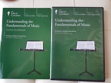 Great Courses - Understanding the Fundamentals of Music DVD,set,Book,Classical,2