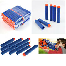 100PCS Kids Toy Refill Gun Bullet Darts Round Head Blasters For NERF N-Strike