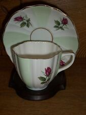Porcelain Cup & Saucer - Crownford Fine Bone China England