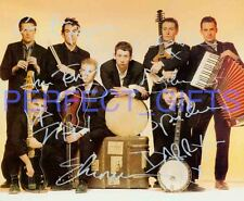THE POGUES X8 SHANE MACGOWAN SIGNED 10X8 REPRO PHOTO