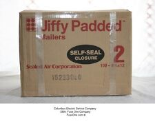 """100 - New Sealed Air 85949 Jiffy #2 Heavy Padded Self-Seal Mailers, 8 1/2"""" x 12"""""""
