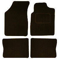 Renault Clio Mk 2 Tailored Car Mats (98-05) - Black