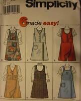 7267 Vintage Simplicity SEWING Pattern Misses Skort Jumper UNCUT OOP NEW FF SEW