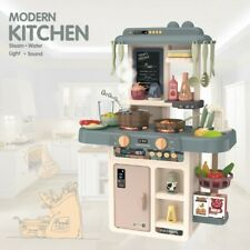 Kitchen Play Set Pretend Baker Baby Kids Toy Cooking Playset Girls Boys Gift US