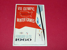 280 SQUAW VALLEY 1960 PANINI OLYMPIA 1896-1972 JEUX OLYMPIQUES OLYMPIC GAMES
