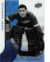RARE TERRY SAWCHUK UPPER DECK ICE ACETATE CARD DETROIT RED WINGS