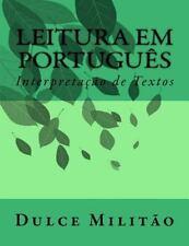 Leitura Em Português : Projeto Didático de Português Instrumental II by Dulce...