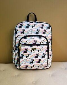 Betsey Johnson Unicorn Rainbow Backpack NEW