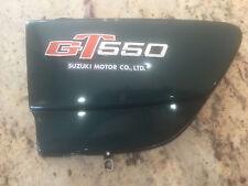 Suzuki GT550 Left Side Frame Cover Part # 47211-34100
