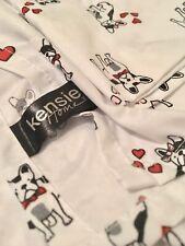 Kensie Home French Bulldog Sheet Set Size Full