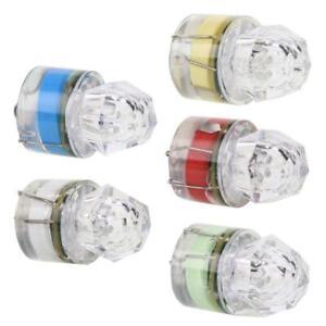 5PC Bright LED Deep Drop Underwater Diamond Fishing Flashing Light Bait Lure