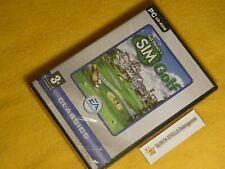 SID MEIER'S SIMGOLF x PC Windows NEW FACTORY SEALED VERY RARE!! PC Game SIM GOLF