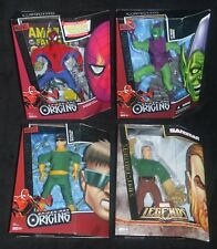 """Marvel Signature Origins 9"""" SPIDER-MAN, GREEN GOBLIN, DOCTOR OCTOPUS & SANDMAN"""