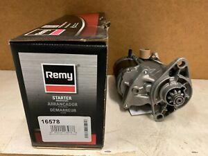 16578 Remy Remanufactured Starter Toyota 2.4l Pickup 4Runner Celica 81-93