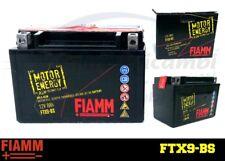 FTX9-BS BATTERIA MOTO FIAMM (YUASA YTX9-BS) 12V 8Ah + LIQUIDO exide bosch varta