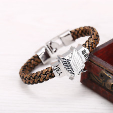 Anime Attack On Titan Survey Corps Bracelet Unisex Fan Gift