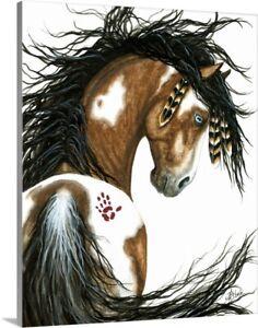 Spirit Paint - Majestic Horse Canvas Wall Art Print, Horse Home Decor