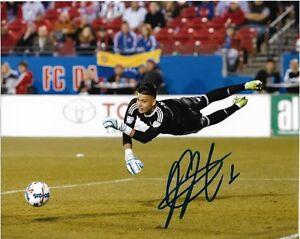 FC Dallas Jesse Gonzalez Autographed Signed MLS 8x10 Photo COA L