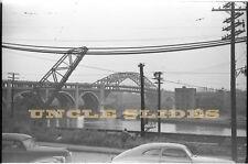 Original Train Negative Kodak 35mm Plus X  Detroit Superior Bridge Veterans Film