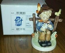 Goebel Hummel She Loves Me She Loves Me Not #859 Tmk7 4 3/8 Inches, Original Box