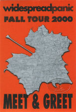 Widespread Panic Fall 2000 Tour Backstage Pass Meet Greet