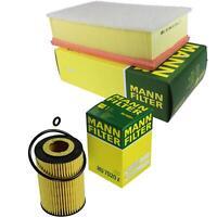 MANN-Filter Set Ölfilter Luftfilter Inspektionspaket MOL-9694552