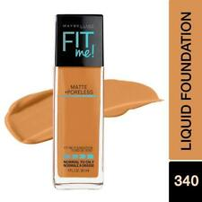 Maybelline Fit Me Matte+Poreless Liquid Foundation With Pump- Cappuccino 340