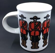 Marc Tetro Coffee Mug Royal Canadian Mounted Police by Danesco Canada