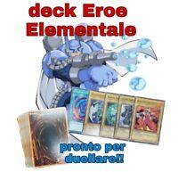 Yu-Gi-Oh! Deck Mazzo Completo Eroe Elementale - Hero - Pronto per Duellare #NSF3