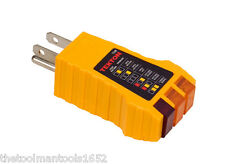 NEW - 3-Prong Electrical Outlet TESTER - Receptacle Plug Detector -  UL-Listed