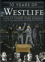 Westlife - 10 Years Of Westlife - Live At Croke Park Stadium (DVD) NEW / SEALED