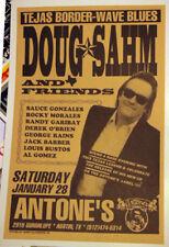 DOUG SAHM Austin TEXAS (1995) CONCERT POSTER Randy Garibay sir douglas quintet