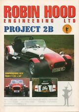 Robin Hood Project 2B & Kaig cars & kit cars (made in GB)_2000 Prospekt Brochure