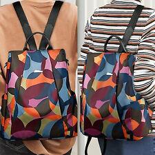 Women Waterproof Oxford Cloth Backpack Ladies Travel School Satchel Shoulder Bag